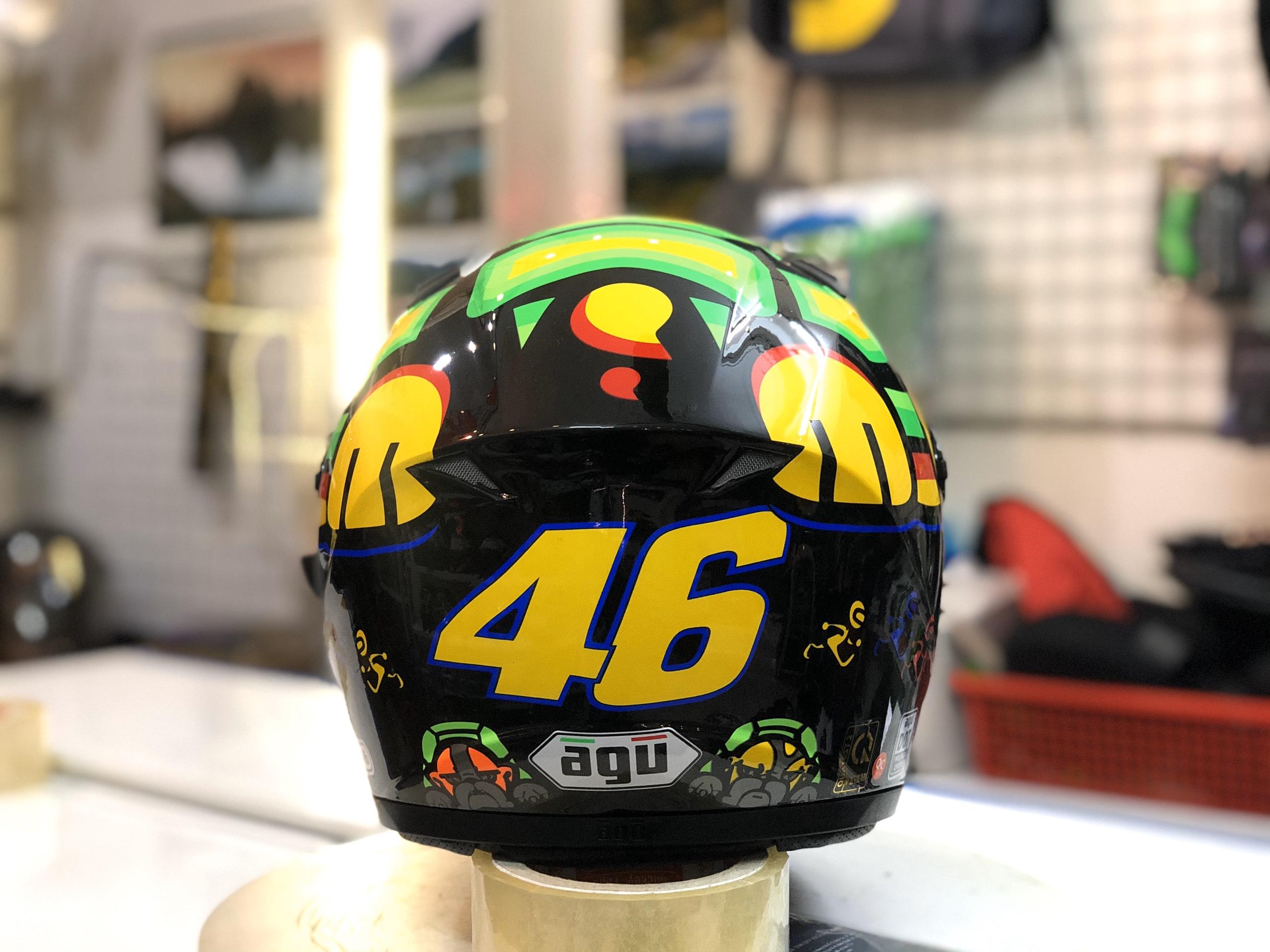 Mũ bảo hiểm AGU tem rùa (4)
