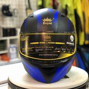 Mũ bảo hiểm Royal M179 xanh (2)