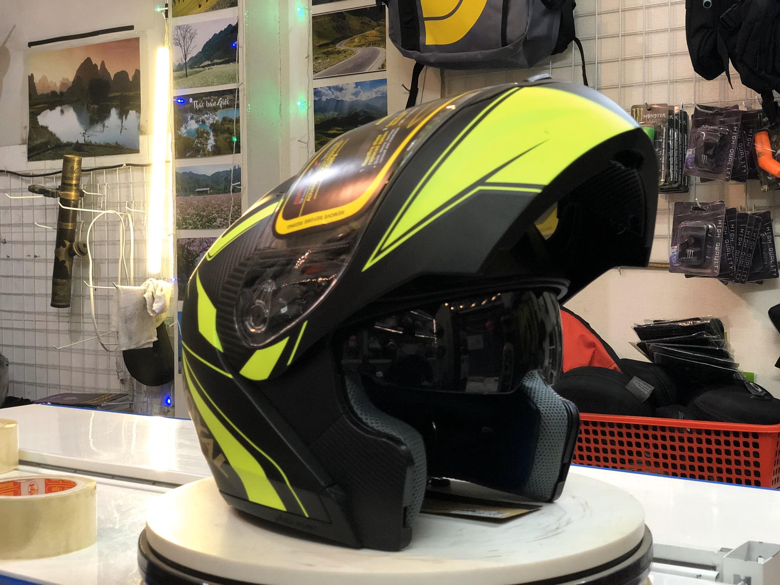 Mũ bảo hiểm Royal M179 xanh lá (5)