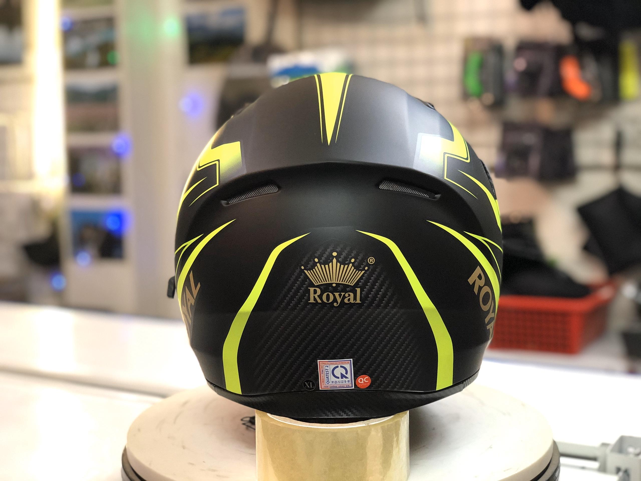 Mũ bảo hiểm Royal M179 xanh lá (6)