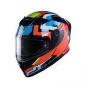 Mũ bảo hiểm Roc R01 cam (3)