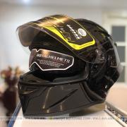 mũ bảo hiểm royal roc m137 đen bóng (2)