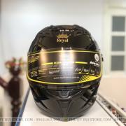 mũ bảo hiểm royal roc m137 đen bóng (4)
