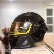 mũ bảo hiểm royal roc m137 đen bóng (8)