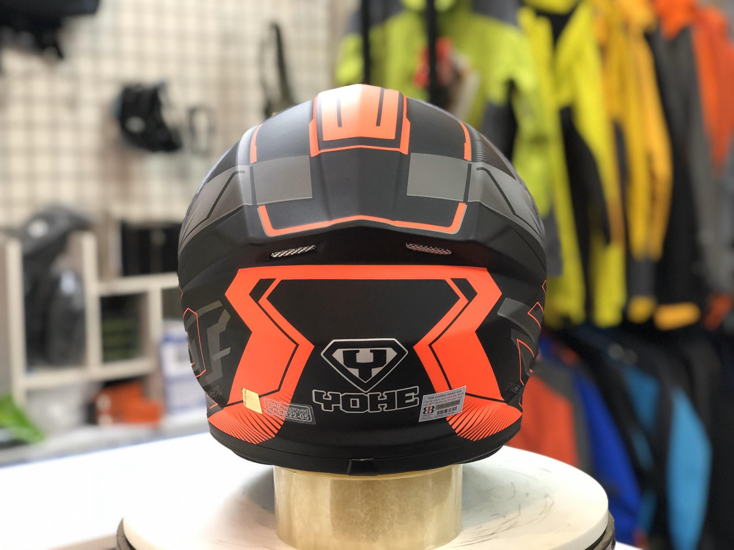 mũ bảo hiểm yohe 977 đỏ (2)