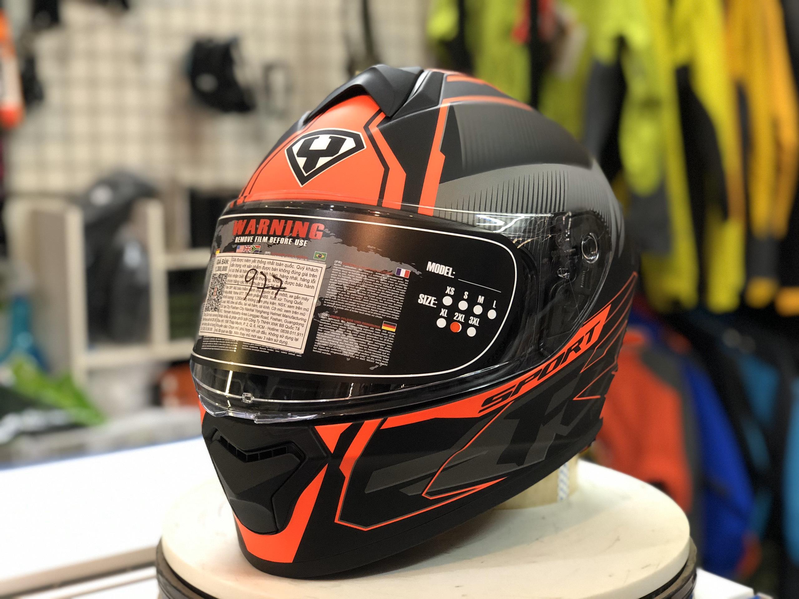 mũ bảo hiểm yohe 977 đỏ (6)
