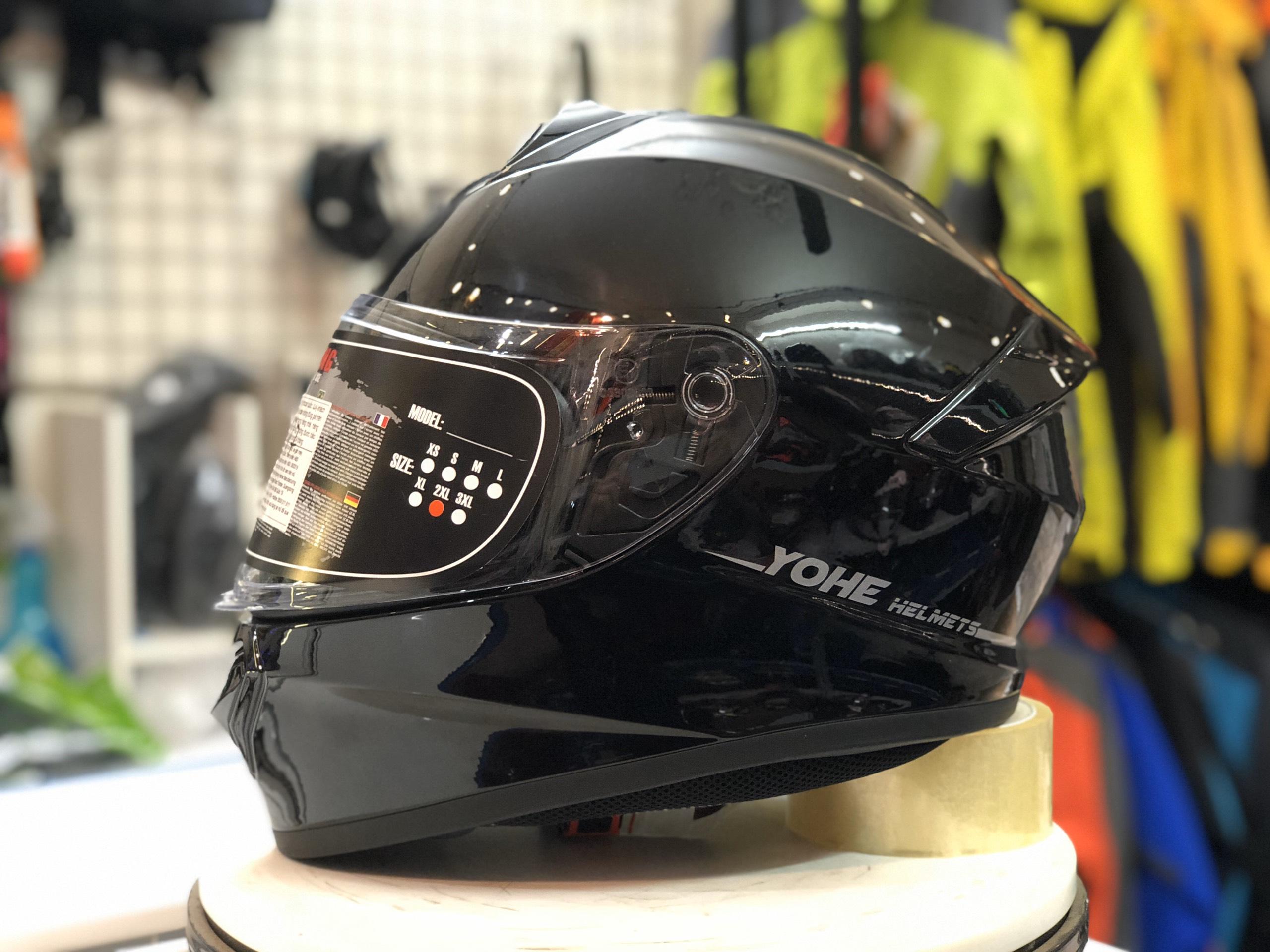 mũ bảo hiểm yohe 977 đen (2)