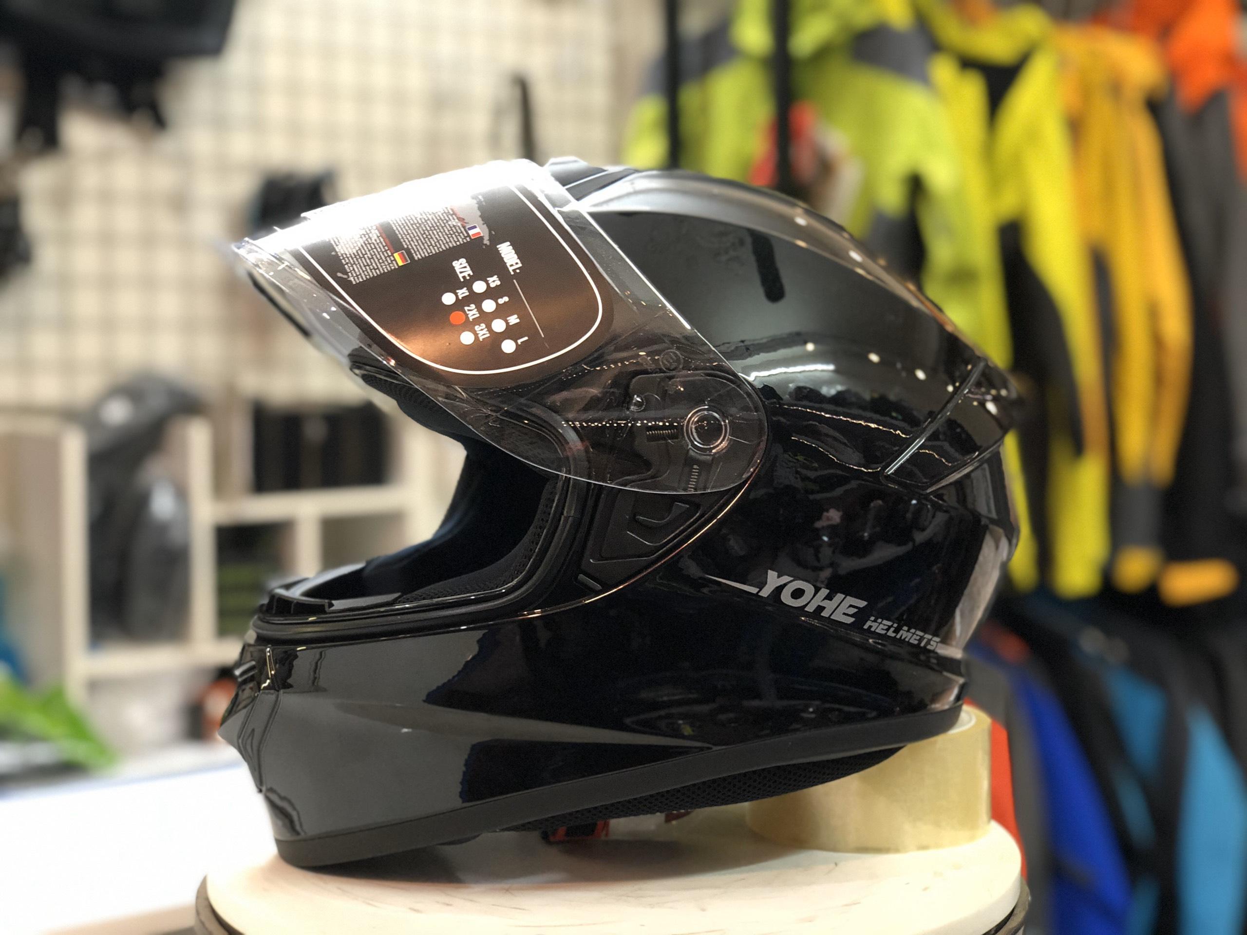mũ bảo hiểm yohe 977 đen (5)